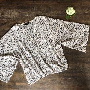 Sanctuary blouse with kimono style sleeves EUC